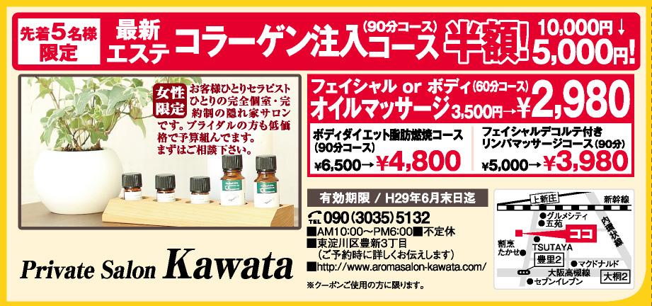 Private Salon Kawata(カワタ)